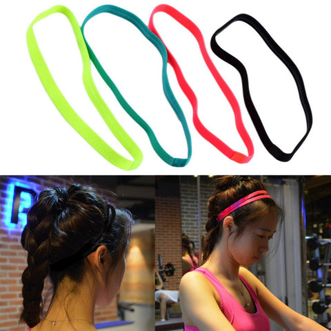 Anti-Slip Elastic Fitness Rubber Headband