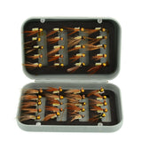 40pcs Various Dry Fly Fishing Lures Box Set
