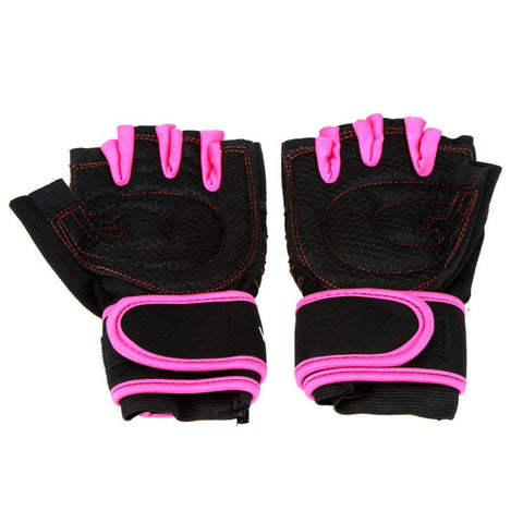 Gym Cross-fit Fitness Half Finger Gloves