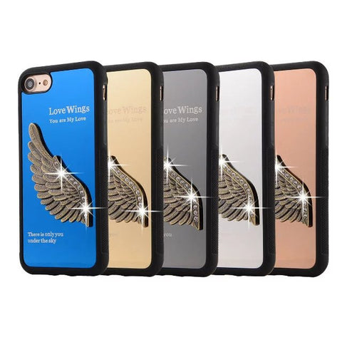 3D Angel Wing Iphone 7 Metal Case