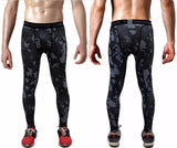 2016 Men's GYM Compression Crossfit Trousers