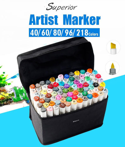 GoGo Double Headed Artist Marker Set