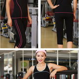 Women Elastic Sports Suit