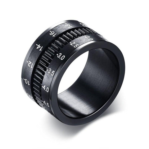 Unique DSLR Lens Spinner Ring