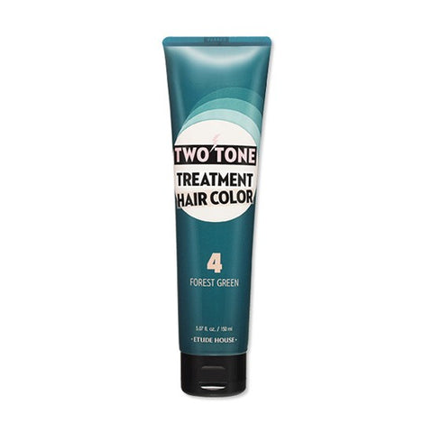 ETUDE HOUSE Two Tone Treatment Hair Color Forest Green - 150ml - CORAL
