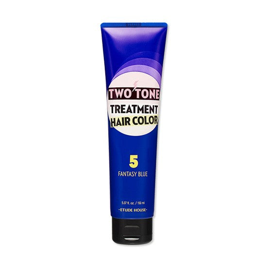 ETUDE HOUSE Two Tone Treatment Hair Color Fantasy Blue - 150ml - CORAL