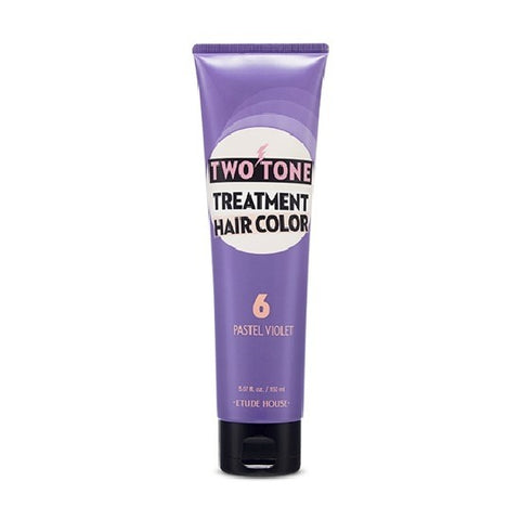 ETUDE HOUSE Two Tone Treatment Hair Color Pastel Violet - 150ml - CORAL