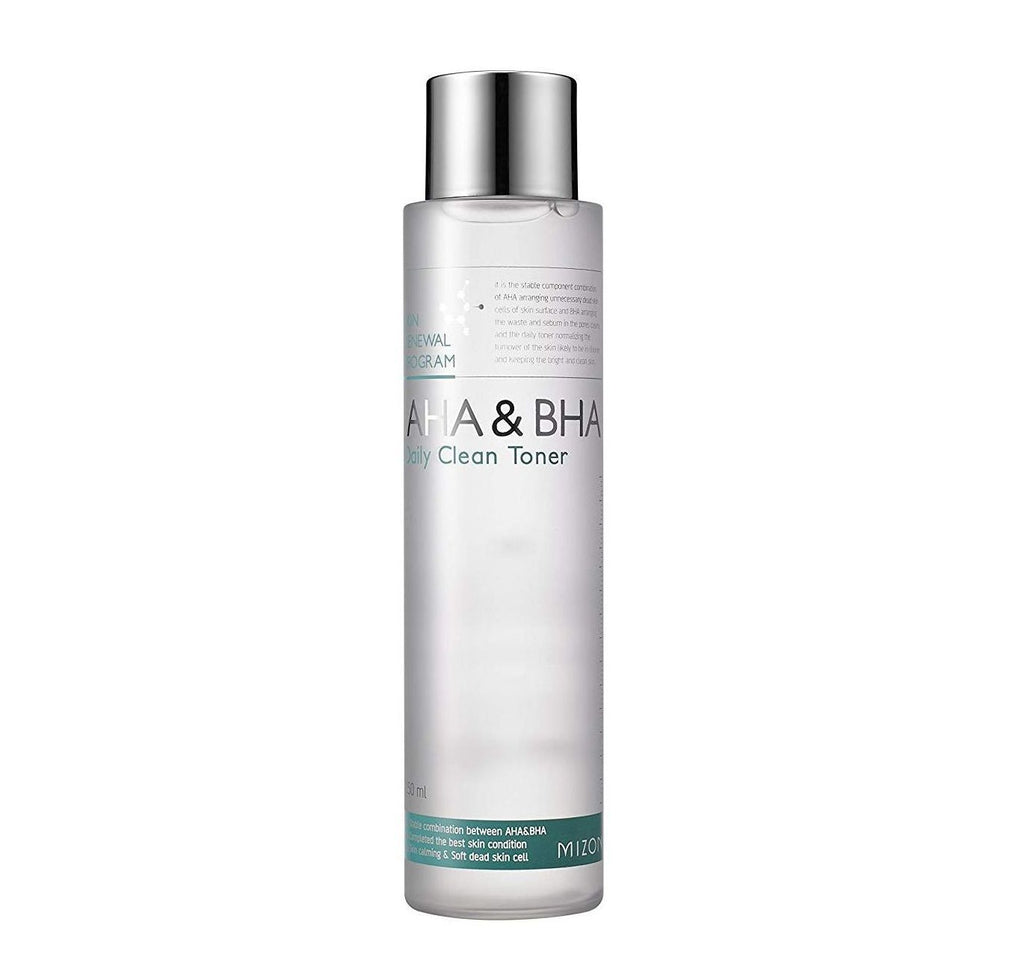 AHA & BHA Daily Clean Toner - 150ml - CORAL