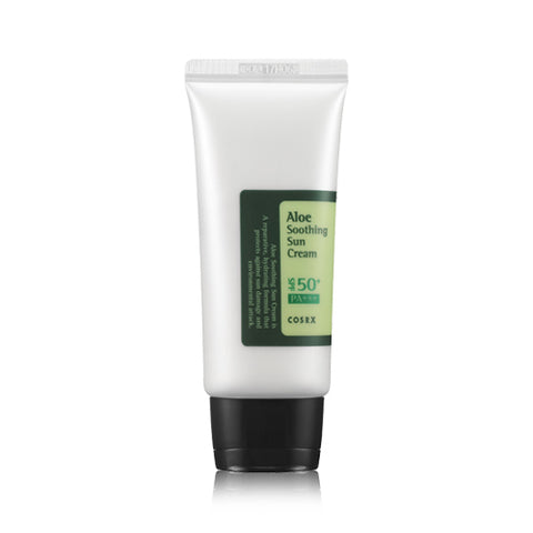 Aloe Soothing Sun Cream (SPF50 PA+++) - 50ml - CORAL