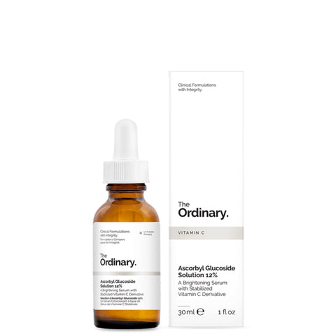 Ascorbyl Glucoside Solution 12% (Without box) - 30ml - CORAL