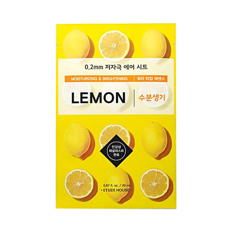 0.2 Therapy Air Mask (Lemon) - CORAL