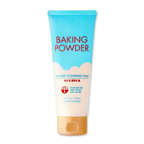 Baking Powder BB Deep Cleansing Foam - 160ml - CORAL