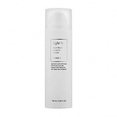 Light Fit Real Water Toner To Cream - 130ml - CORAL