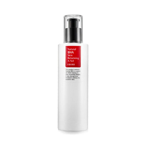 COSRX Natural BHA Skin Returning A Sol - 100ml - CORAL