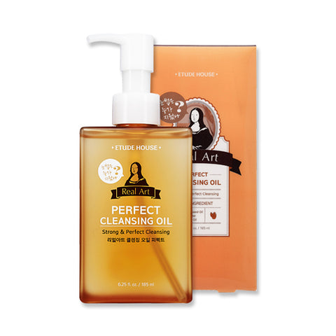 Real Art Perfect Cleansing Oil - 185ml - CORAL