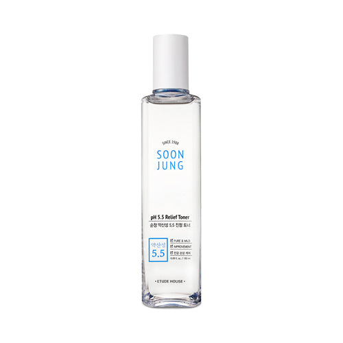 Soon Jung PH 5.5 Relief Toner - 180ml - CORAL