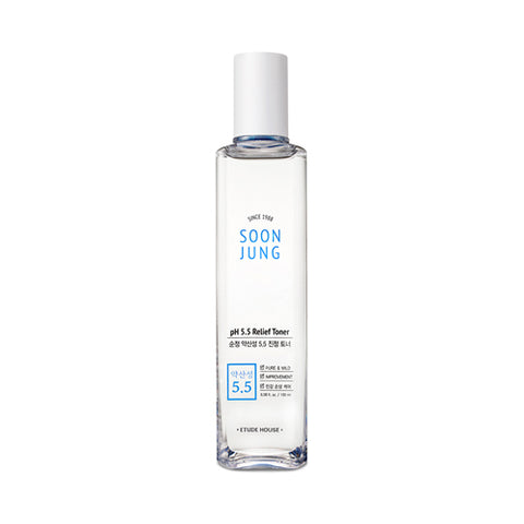 ETUDE HOUSE Soon Jung PH 5.5 Relief Toner - 180ml - CORAL