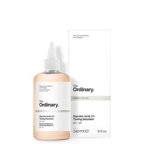 Glycolic Acid 7% Toning Solution - 240ml - CORAL