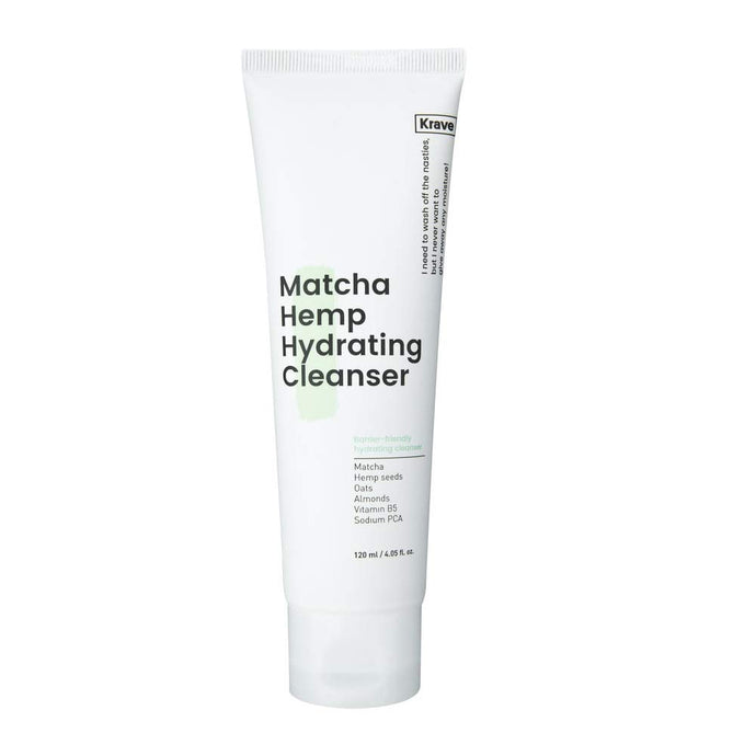 Matcha Hemp Hydrating Cleanser - 120ml - CORAL