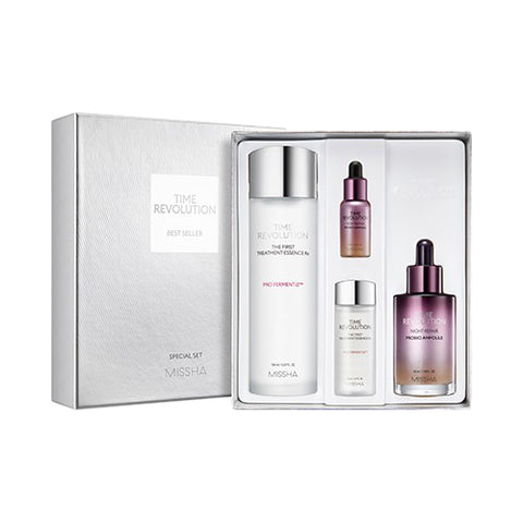 Time Revolution Best Seller Special Gift Set (4items) - CORAL