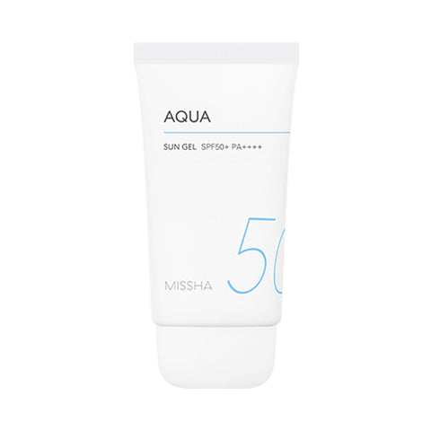 MISSHA All Around Safe Block Aqua Sun Gel SPF50+ PA++++ - 50ml - CORAL