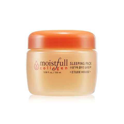 Moistfull Collagen Sleeping Pack - 100ml - CORAL