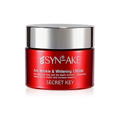 SYN AKE Anti Wrinkle & Whitening Cream - 50g - CORAL