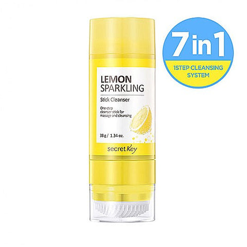 Lemon Sparkling Stick Cleanser - 38g - CORAL
