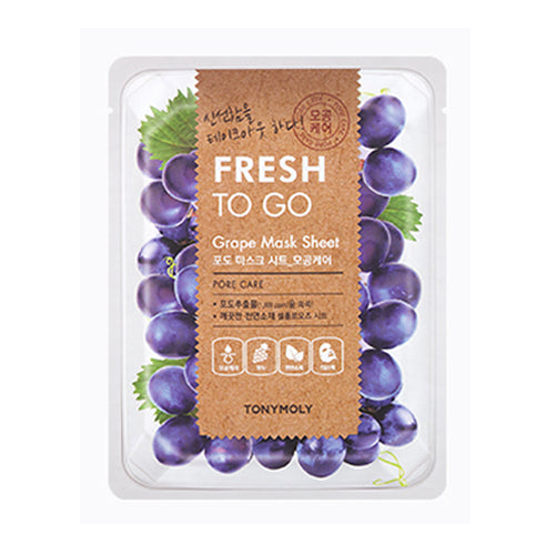 Fresh To Go Mask Sheet - Grape - CORAL