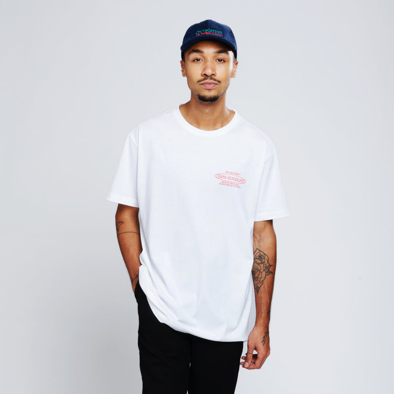 100% Goodlife T-Shirt - White
