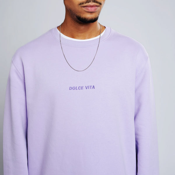 Dolce Vita Sweater - Light-Purple