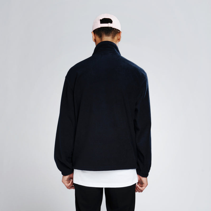 Free Spirit Company Fleece Sweater - Navy