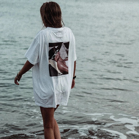 90s Dolce Vita Girl T-Shirt White
