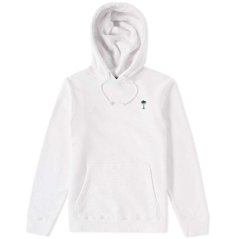 On Vacation Palms Hoodie White