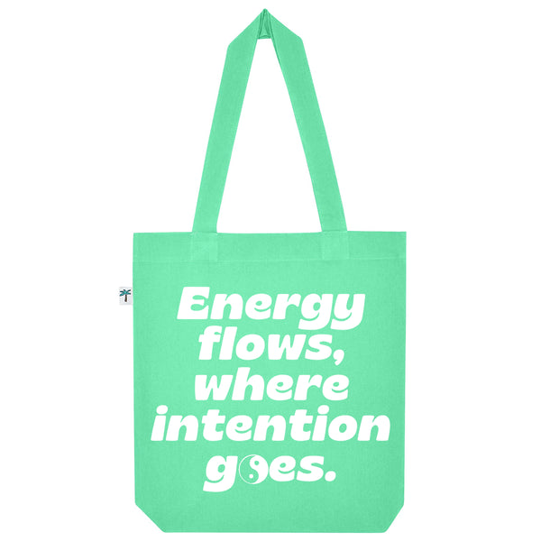 Energy Flow Shopping Bag - Mint