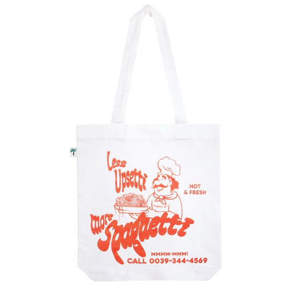 Less Upsetti Shopping Bag - White