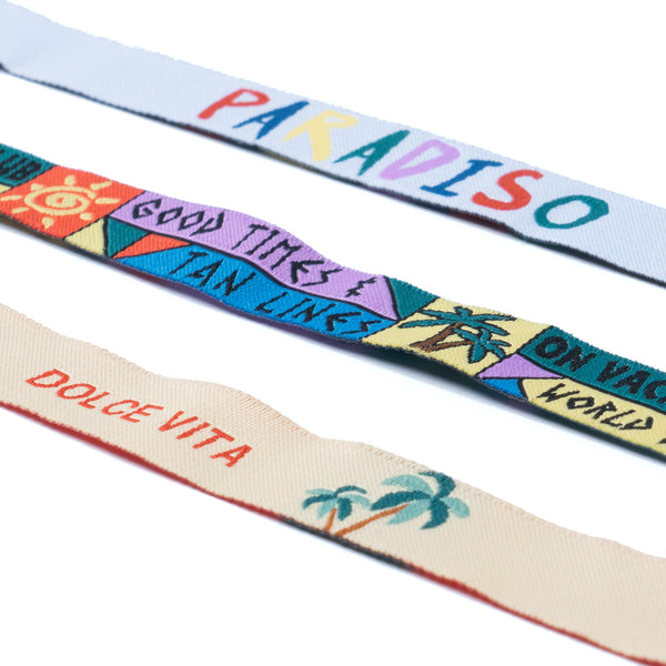 On Vacation Club Bracelets 3-Pack