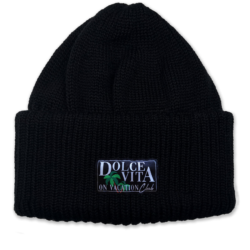 High Beanie Dolce Vita - Black