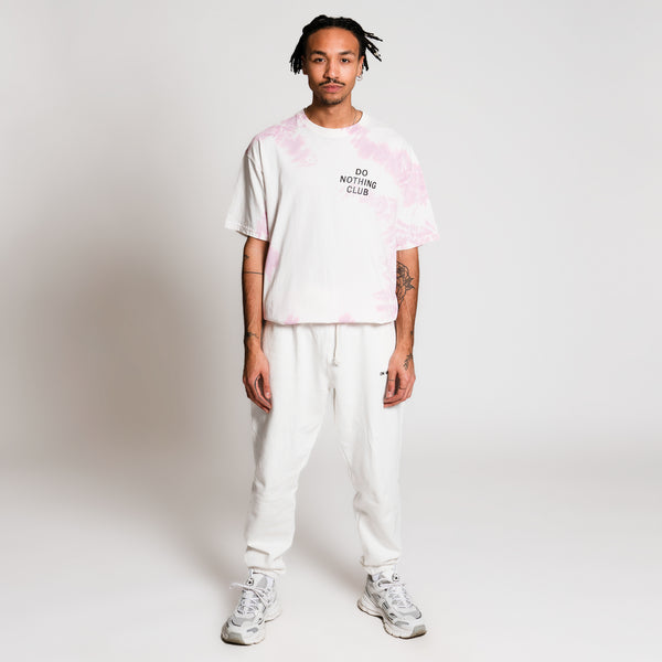 Do Nothing Club Tie Dye T-Shirt - Blush