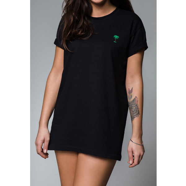On Vacation Palms T-Shirt Black