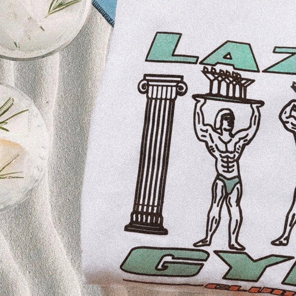Lazy Gym T-Shirt - White
