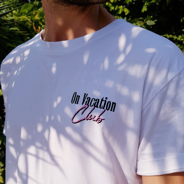 Beach Club T-Shirt White
