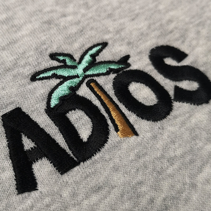 Adios Sweater Light-Grey