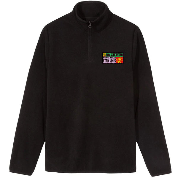 Tan Lines Fleece Black