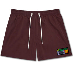 Tan Lines Swim Shorts - Bordeaux