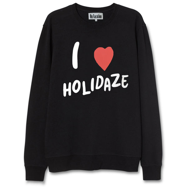 I Love Holidaze Sweater - Black