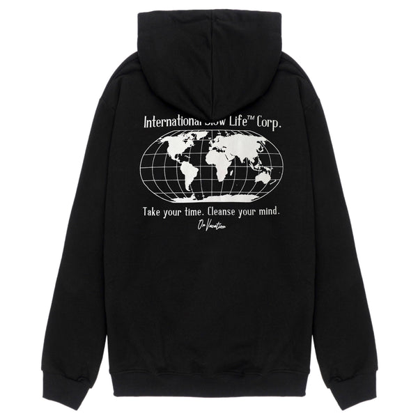 International Slow Life Hoodie - Black