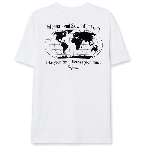 International Slow Life T-Shirt - White