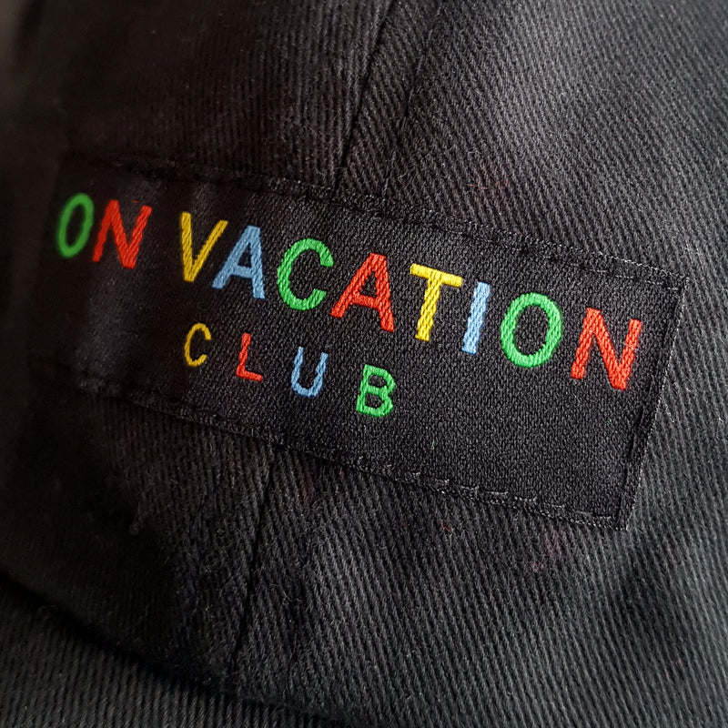 Color Club Cap - Black