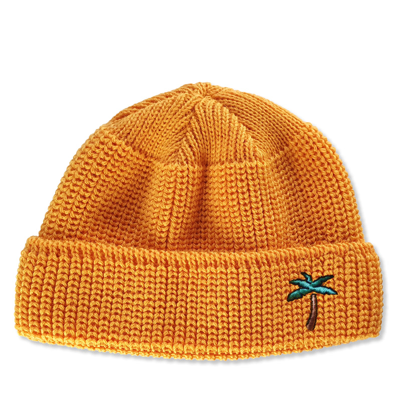 Short Wool Beanie Palm - Honey